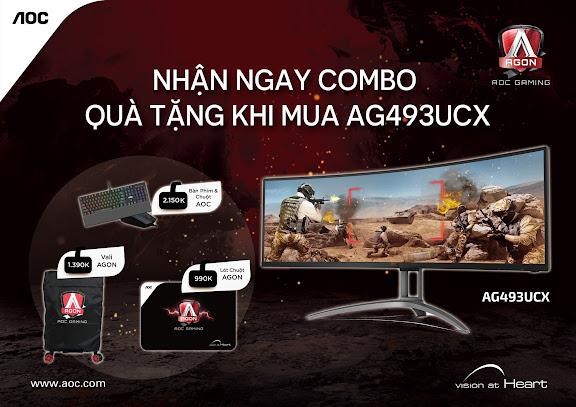 Màn hình Gaming AGON Ultra Wide AG493UCX - 287529