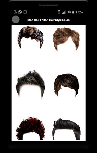 Man Hair Editor : Hair Style Photo Maker  screenshots 8