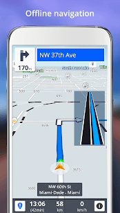 GPS Navigation Screenshot