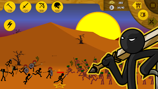 Stick War: Legacy (MOD, Gems) APK for Android 4