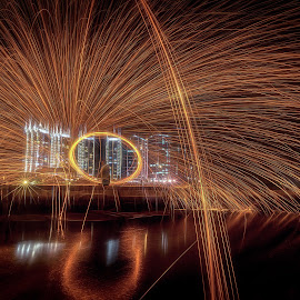 Steelwool by David Loarid - Abstract Light Painting