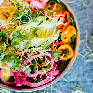 Spicy Pineapple Taco Salad Recipe