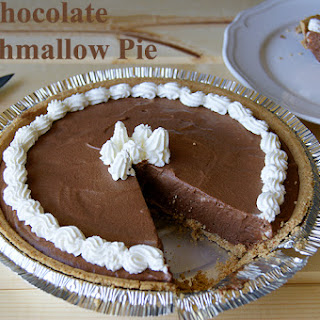 Chocolate Marshmallow Cream Pie