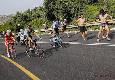 Ongezien: opnieuw renner aangereden op training en hij houdt er ... boete aan over!