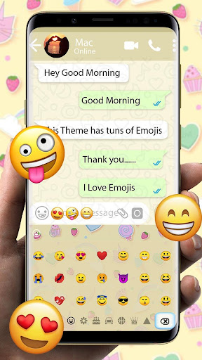 Theme for Whatsapp 10001009 screenshots 3