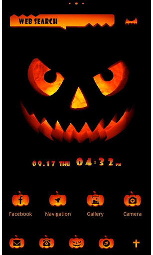 Funny Theme-Jack O' Lantern- 1.0.0 Windows u7528 1