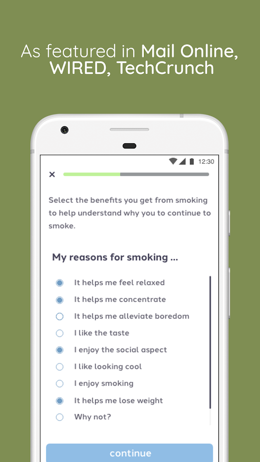 Quit Genius 🚭  Best way to quit smoking for good- screenshot