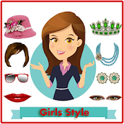 Girl photo editor new icon