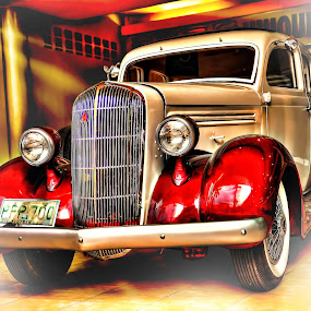 Vintage Car by Eshwer Gonzales - Transportation Automobiles