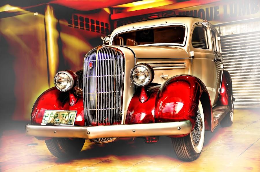Vintage Car by Eshwer Gonzales - Transportation Automobiles