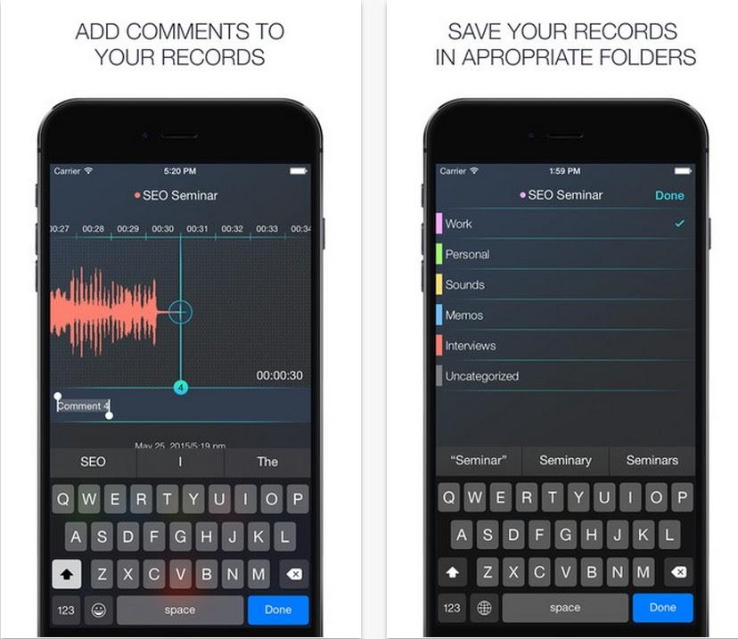 App推薦下載-超好用【RecApp】錄音筆記,可隨時註解.標籤!