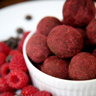 Chocolate Raspberry Protein Balls
