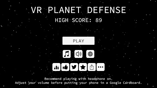 VR Planet for Cardboard- screenshot thumbnail