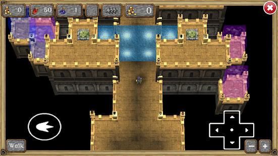 Wizards Maze 3D - náhled