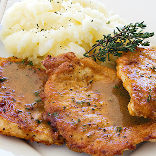 Home Style Pork Chops with Pan Sauce Recipe