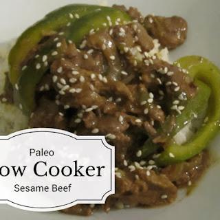 Paleo Slow Cooker Sesame Beef