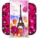 Paris Love Live Wallpapers ❤️French Love Wallpaper icon