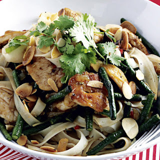 Vietnamese Chicken and Noodle Stir-fry.