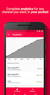 Realtime Subscriber Count- screenshot thumbnail