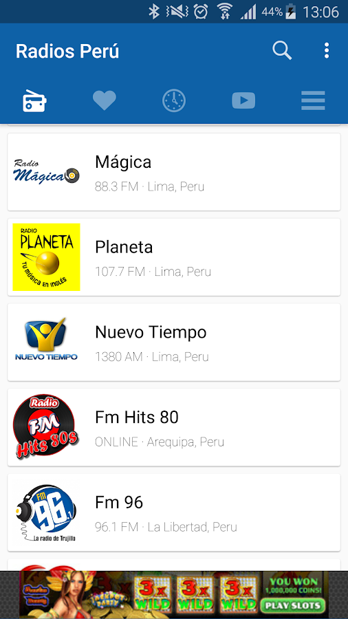 Radios Peru- screenshot