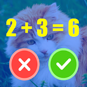 Math and Cat Puzzle Game