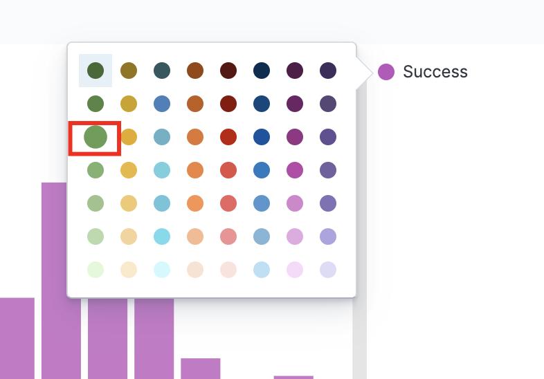 Choosing a histogram color