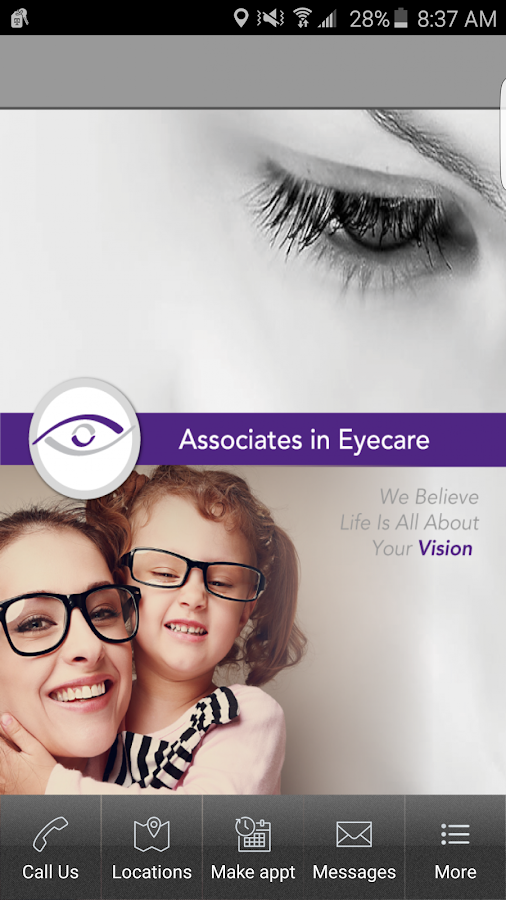 Associates in Eyecare- screenshot