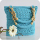 Crochet bag colection icon