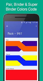 CopperPairs - Telecom Color Code Translator - náhled