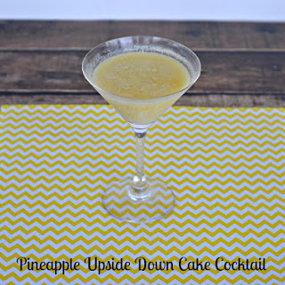 Pineapple Upside Down Cake Cocktail