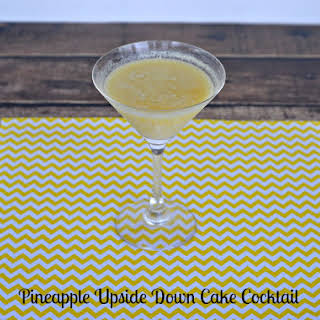 Pineapple Upside Down Cake Cocktail.