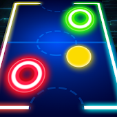 Glow Air Hockey M