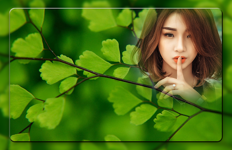 Green Leaf Photo Frames - náhled