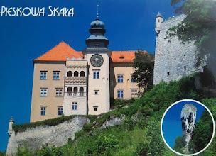 Photo: Castle in Pieskowa Skała and Hercules' Club (Poland)