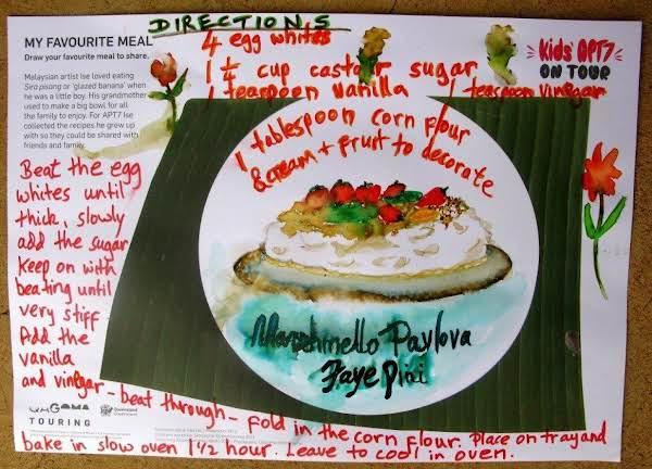 Marshmallow Pavlova Recipe
