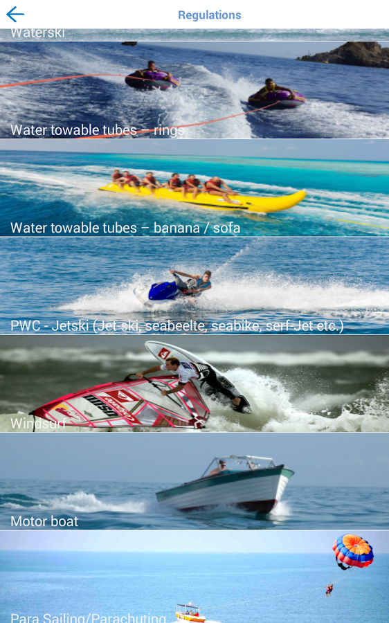 Safe Water Sports- screenshot