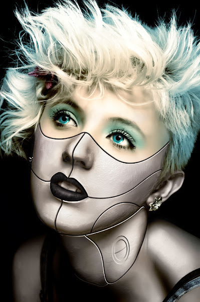 Photo: Portrait of a cyborg