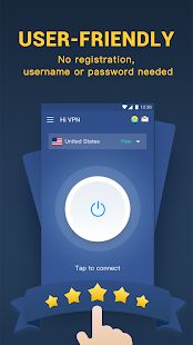 Hi VPN Pro - Free Unlimited Proxy & Hotspot VPN Screenshot