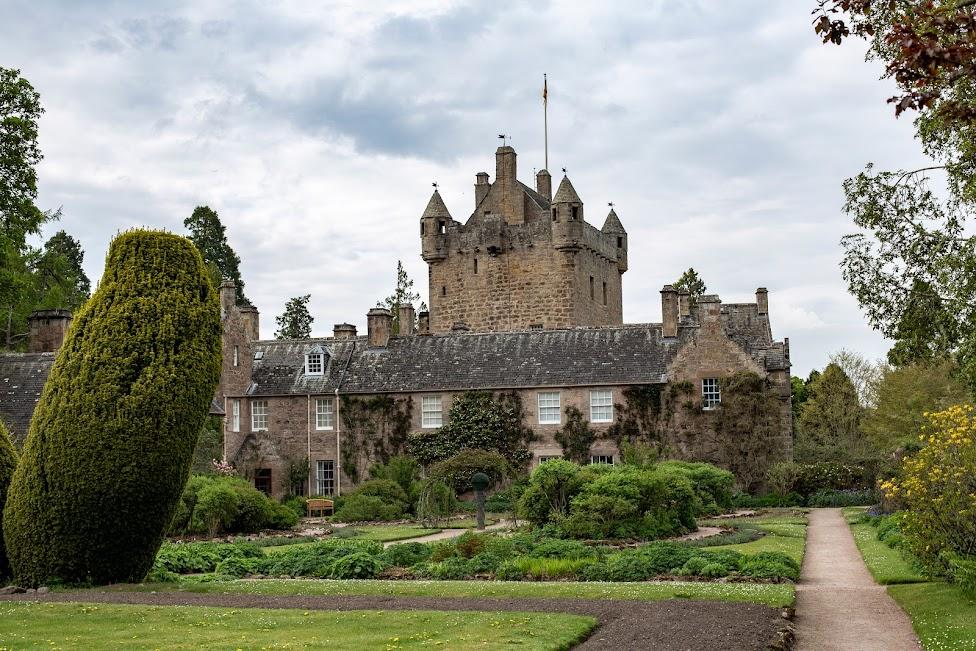 szkockie zamki, Cawdor Castle, Szkocja