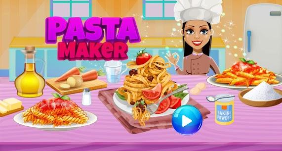 Make Pasta In Cooking Kitchen Food Maker 1
