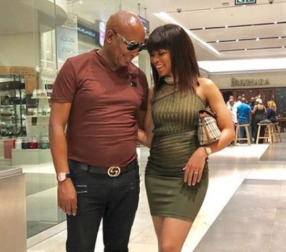 Kenny Kunene and Nonkululeko are love goals.