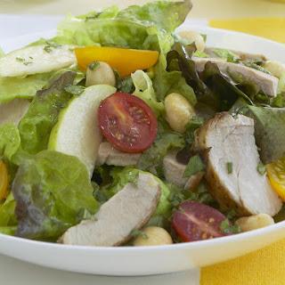 Pork and Macadamia Nut Salad with Sage-Honey Vinaigrette