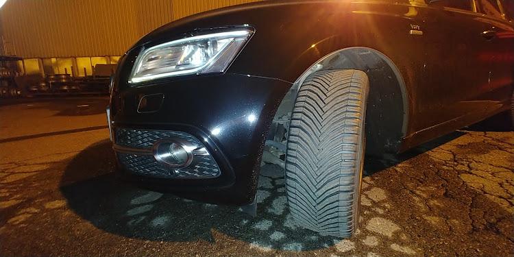 S Q5 8R型のSQ5,Q5,アウディ,タイヤ,SUVに関するカスタム&メンテナンスの投稿画像1枚目