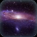 Milky Way Galaxy Live Wallpap icon