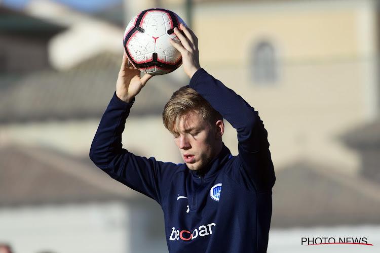 Un joueur de l'académie de Genk rejoint Waasland-Beveren