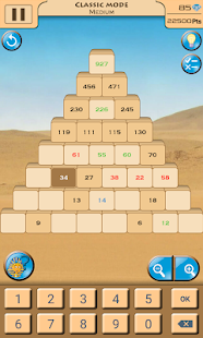 Sapphire Pyramid: Numbers Game - náhled