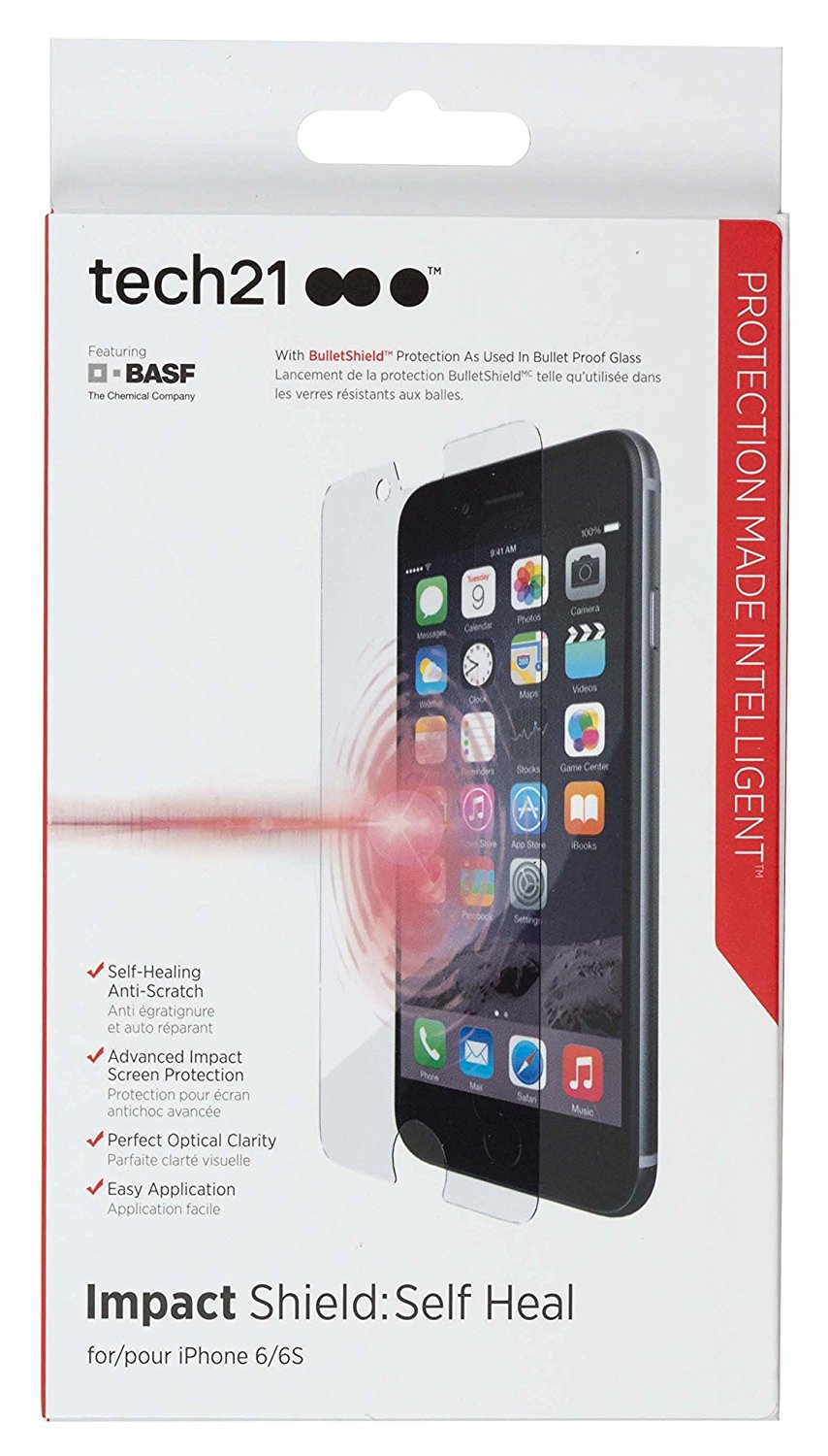 big sale efd13 030ad Details about New Original Tech21 Screen Protector for iPhone 8 7 6 6s 5 5s  5c SE / 6 6s Plus!