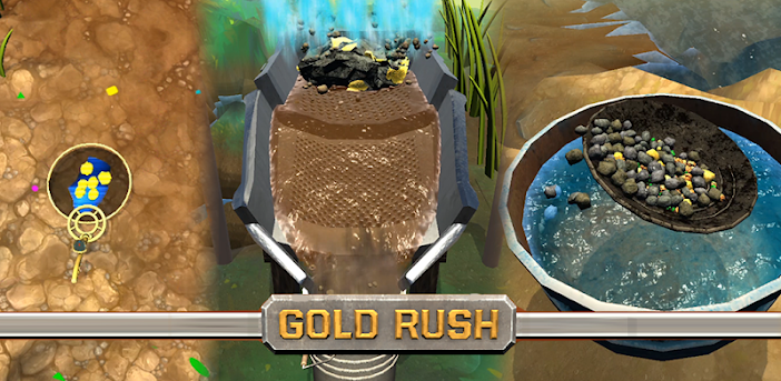 Gold Rush 3D!