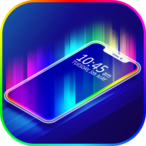 Border Light Led Color Live Wallpaper Apk Mod