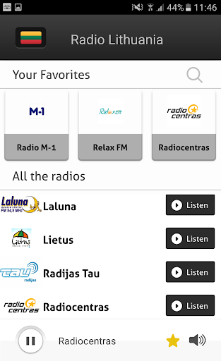 Radio Lithuania - Radios LT app (apk) free download for Android/PC/Windows screenshot